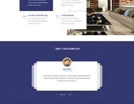 Nro 34 kilpailuun Design New WordPress Site Mockup käyttäjältä rajchoudhary265