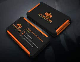 #244 for Design some business cards for the company : La Solution Résidentielle by ahtonmoy