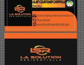 #245 for Design some business cards for the company : La Solution Résidentielle by mredula895