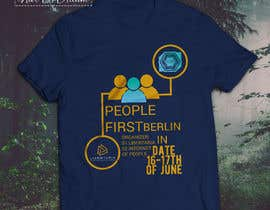 "#14 for Design a t-shirt for an event for ""People First"" conference in Berlin by nurallam121"