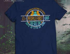 "#30 for Design a t-shirt for an event for ""People First"" conference in Berlin by nurallam121"