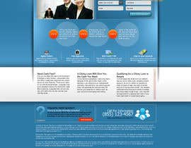 #30 para Website Design for clickyloans por ANALYSTEYE