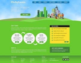 #2 para Website Design for clickyloans por Pavithranmm