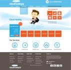 Graphic Design Inscrição do Concurso Nº44 para Website Design for cloud hosting and cloud storage mini site for major UK hosting company