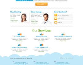 Nro 37 kilpailuun Website Design for cloud hosting and cloud storage mini site for major UK hosting company käyttäjältä iNoesis
