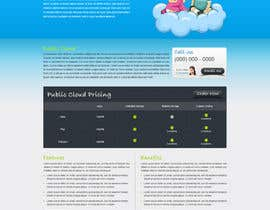 Nro 32 kilpailuun Website Design for cloud hosting and cloud storage mini site for major UK hosting company käyttäjältä nitinatom