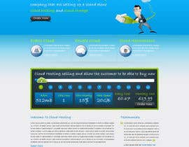 Nro 31 kilpailuun Website Design for cloud hosting and cloud storage mini site for major UK hosting company käyttäjältä nitinatom