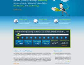 Nro 21 kilpailuun Website Design for cloud hosting and cloud storage mini site for major UK hosting company käyttäjältä nitinatom