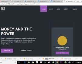Nro 2 kilpailuun Home page redesign käyttäjältä MashoodQuadri