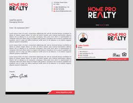 #208 for Design business cards and letterhead for real estate company by sabbir2018