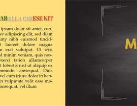 #13 สำหรับ Sleeve Label Design for Mozzarella Cheese Kit โดย djdamir