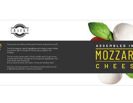 #7 for Sleeve Label Design for Mozzarella Cheese Kit by aliamaghfur