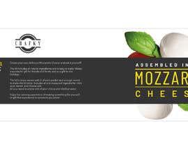 #7 สำหรับ Sleeve Label Design for Mozzarella Cheese Kit โดย aliamaghfur