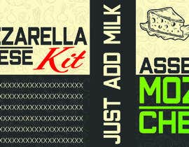 #8 สำหรับ Sleeve Label Design for Mozzarella Cheese Kit โดย asadk7555