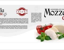 #14 สำหรับ Sleeve Label Design for Mozzarella Cheese Kit โดย jeevasan