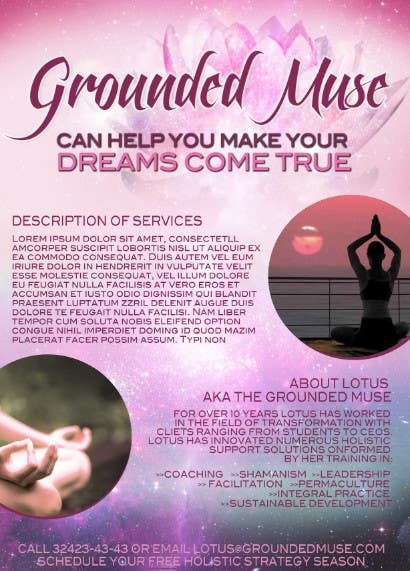 Contest Entry #9 for Graphic Design for Grounded Muse