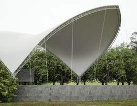 #10 for Rendering of a Saddle Span Tent in a Park by andreizetza