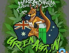 #31 for Design a T-Shirt relating to Australia and Cannabis by GribertJvargas