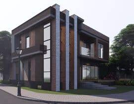#30 for Realistic exterior rendering of a modern house by mga5944989a58f4e