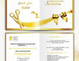 #32 para Design 1 invitation card for an event de satishandsurabhi