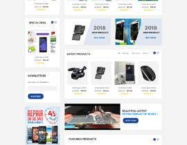 #11 for Design ideas for mobile phone repair site on PSD or any other format. by AhmedAbodekika