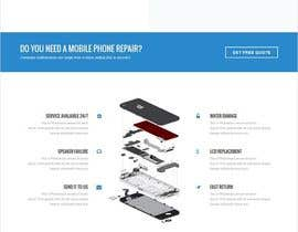 #22 for Design ideas for mobile phone repair site on PSD or any other format. by yeasir119