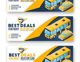 #16 for Facebook cover design for vehicle booking website af GaziJamil