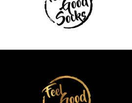 #158 para 'Feel Good Socks' Logo Design por wpurple