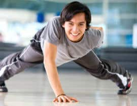 #65 for Find me a good image of someone doing push ups by designsbymallika