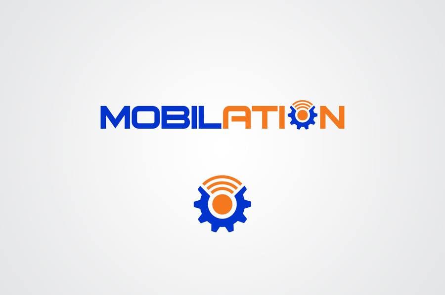 Penyertaan Peraduan #                                        107                                      untuk                                         Logo Design for Mobilation