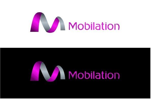 Penyertaan Peraduan #                                        81                                      untuk                                         Logo Design for Mobilation