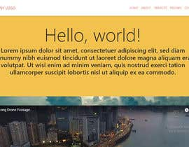 #1 for 1 Page HTML Responsive webpage with corresponding style sheet by Nunaram