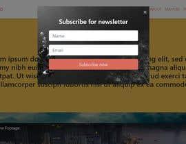Nunaram tarafından 1 Page HTML Responsive webpage with corresponding style sheet için no 3