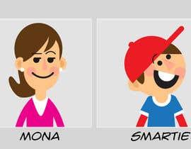 Nro 30 kilpailuun Illustration of 48 avatars for edutech game käyttäjältä manteca
