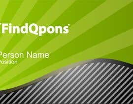 nº 2 pour Business Card Design for FindQpons.com par grupozubirileon