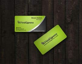 #3 untuk Business Card Design for FindQpons.com oleh kinghridoy