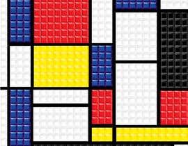 #5 for Design a poster - tetris by littlenaka