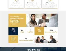 #2 for Photoshop design for a finance website by akminfo