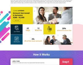#4 for Photoshop design for a finance website by akminfo