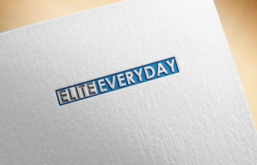 Penyertaan Peraduan #329 untuk Logo for Elite Everyday