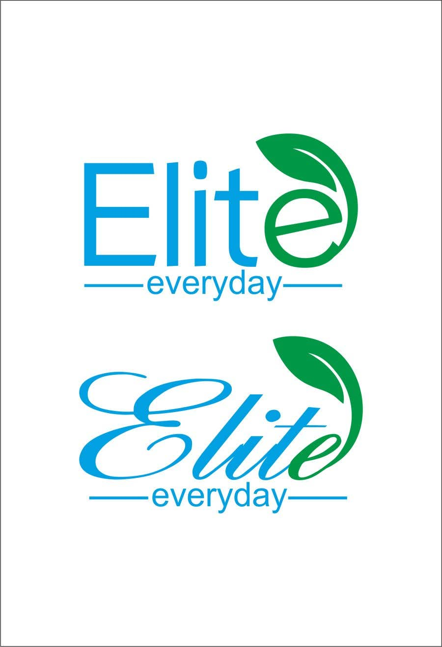 Penyertaan Peraduan #122 untuk Logo for Elite Everyday