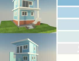 #25 untuk residential building external colour design (nautical theme) oleh luxshen