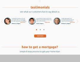 rashinp tarafından Design a Website Mockup for Mortgage Broker: High End Design Required.  Home Page & Inner Page Design için no 32