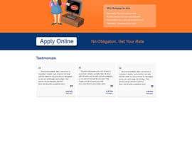 faizalmohamed88 tarafından Design a Website Mockup for Mortgage Broker: High End Design Required.  Home Page & Inner Page Design için no 5