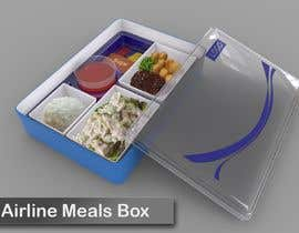 #13 for Custom airline food packaging by mangugeng