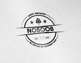 #170 para Design a Logo for a new craft brew company called NOBOOB de Diman0699