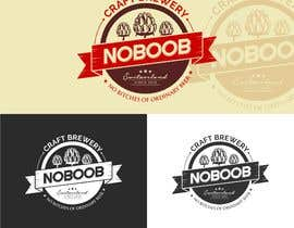#183 para Design a Logo for a new craft brew company called NOBOOB de reyryu19