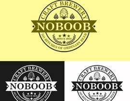 #187 para Design a Logo for a new craft brew company called NOBOOB de oxen09