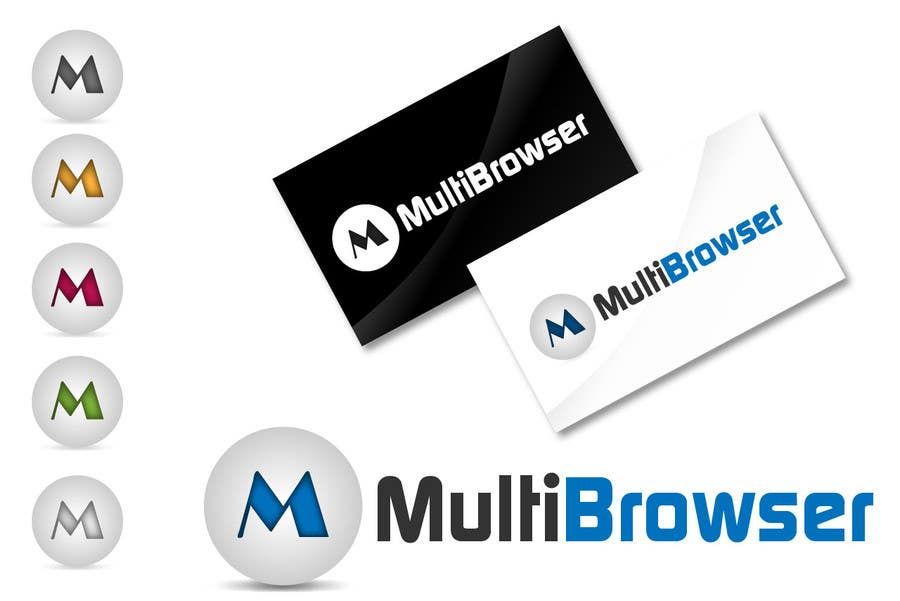 "#436 for Logo Design for ""MultiBrowser"" by akshaydesai"
