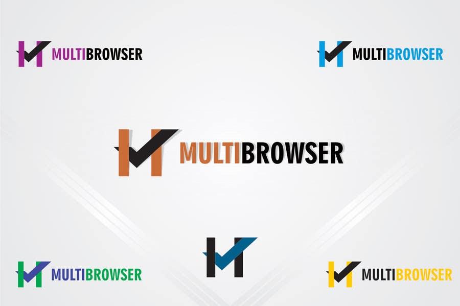 "#408 for Logo Design for ""MultiBrowser"" by bpositive4everh"